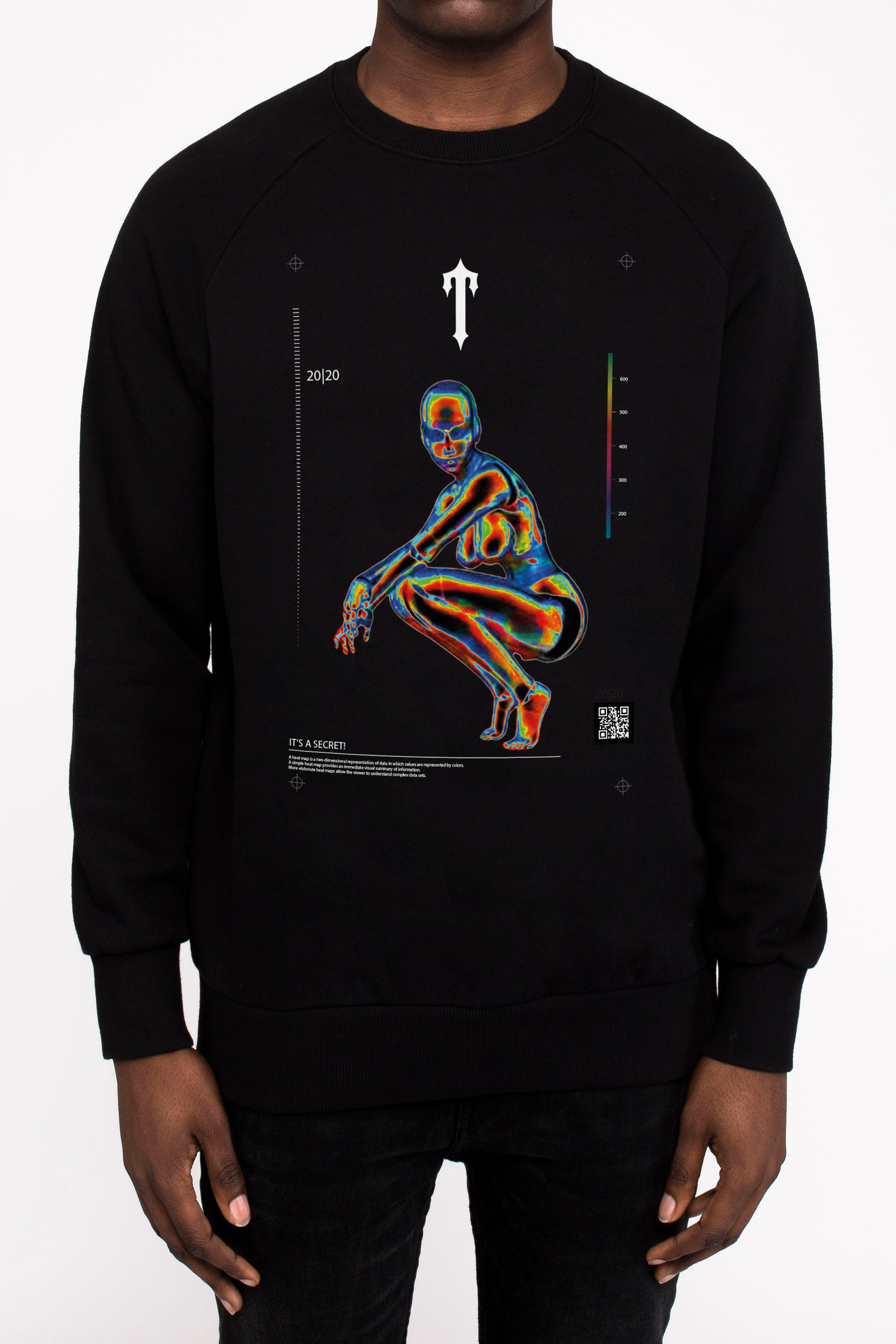 Irongate Heatmap Crewneck - Black