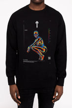 Load image into Gallery viewer, Irongate Heatmap Crewneck - Black