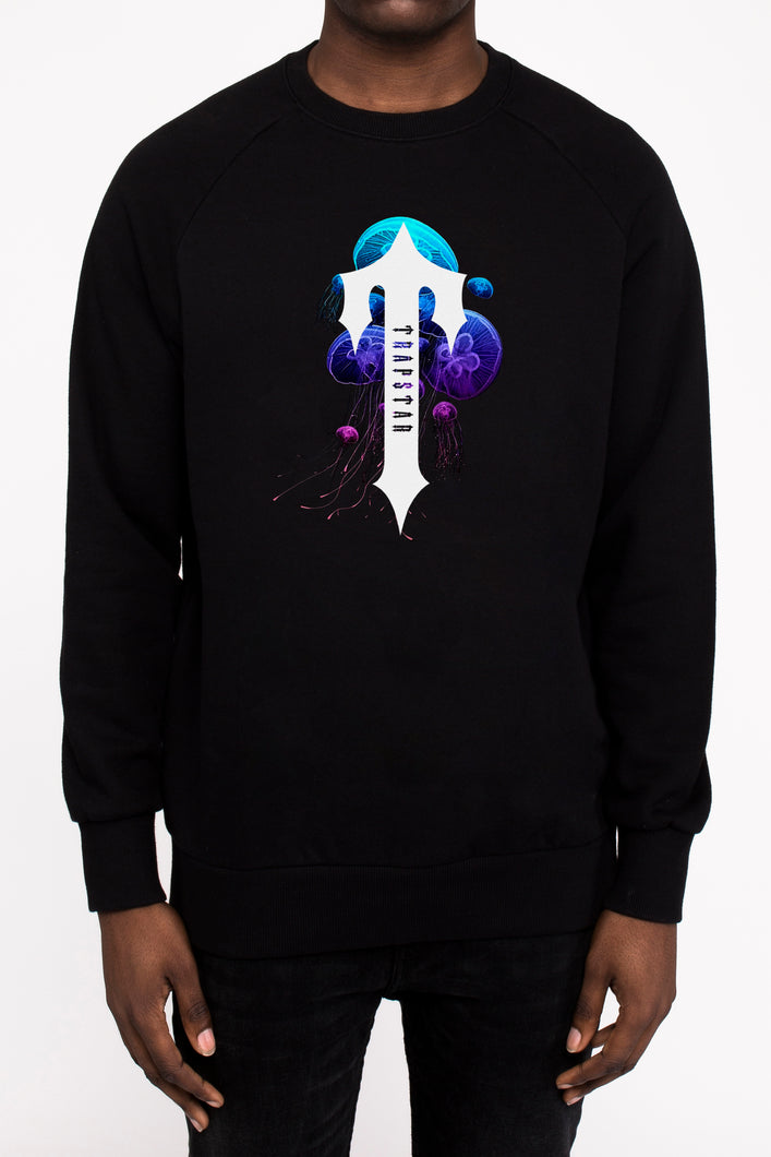 Irongate T Deep Water Crewneck - Black
