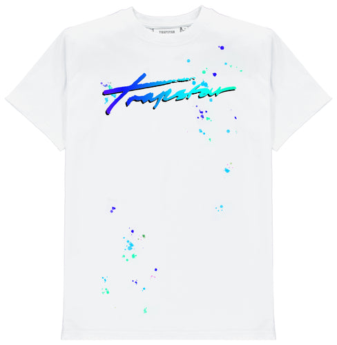 Signature Trip Drip Tee Ice Edition - White