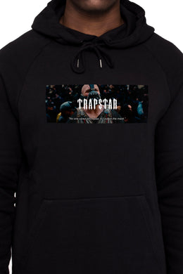 Mask On Hoodie - Black