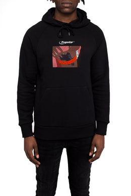 Strapped Up Hoodie - Black