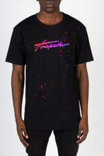 Load image into Gallery viewer, Signature Trip Drip Tee - Black