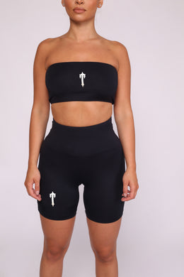 Irongate T Bandeau & Shorts - Black/White