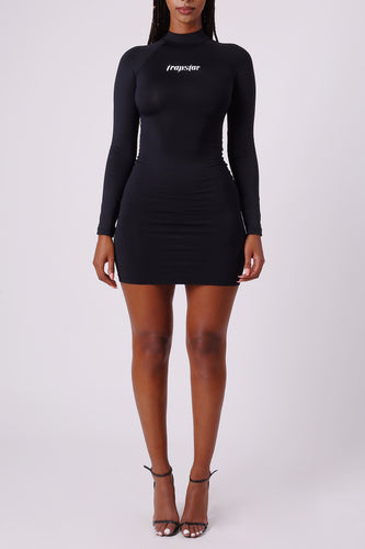 IRONBLADE MINI DRESS - Black