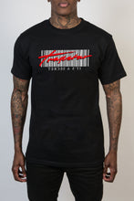 Load image into Gallery viewer, Signature Barcode Tee - Black