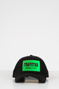 Decoded Patch Strapback - Black/Neon Green