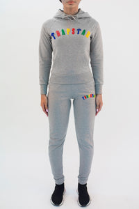Women's Chenille Irongate Tracksuit - Grey Flavours Edition