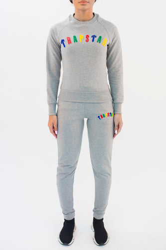 Women's Chenille Irongate Crewneck Tracksuit - Grey Flavours Edition