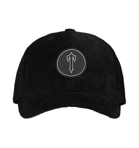Irongate T Patch Corduroy Strapback - Black