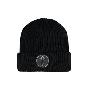Irongate T Patch Beanie - Black/White