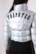 Load image into Gallery viewer, Womens Irongate Cropped Quilted Jacket - Iridescent