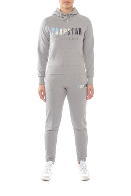 Women's Chenille Decoded Hoodie Tracksuit - Grey Ice Flavours Edition
