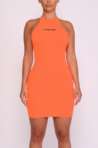 Ironblade Dress - Neon Orange