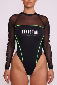 Womens Racing Body - Black/Neon Green