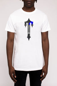 Irongate T Camo Tee - White/Midnight Blue