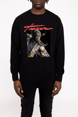 Trapstar x Scorpion Signature Crewneck - Black