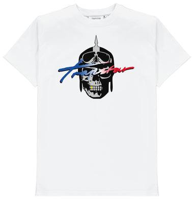 Revolution Signature Rider Tee - White
