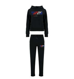 Women's Chenille Decoded Hooded Tracksuit - Black Revolution Edition
