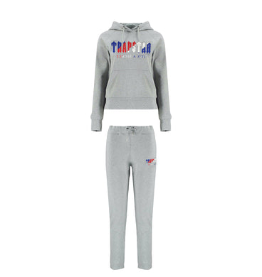 Women's Chenille Decoded Hooded Tracksuit - Grey Revolution Edition