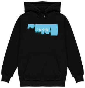 Paint Box Hoodie - Black/Sky Blue
