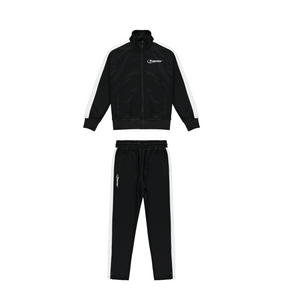 Hyperdrive Zip Tracksuit - Black