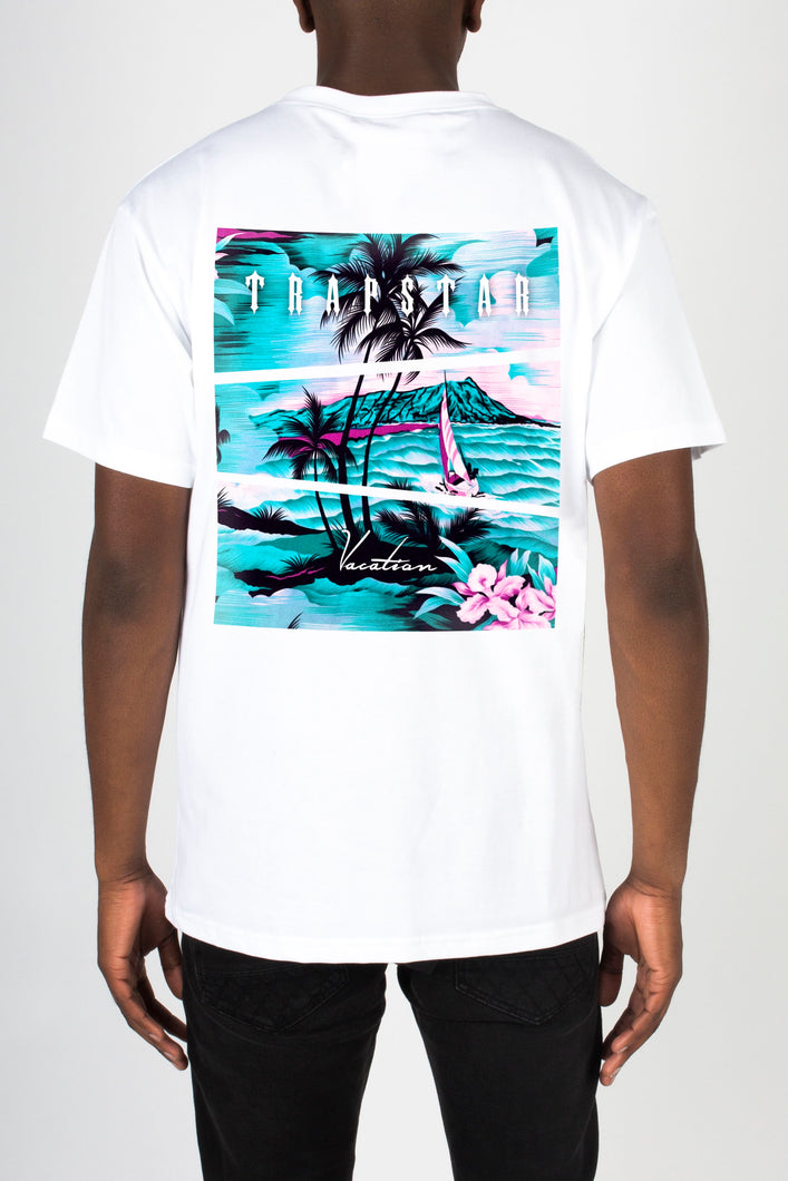 Trapstar Vacation Tee - White