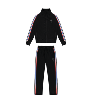 Irongate T Revolution Zip Tracksuit - Red/White/Blue