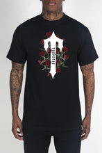 Load image into Gallery viewer, Irongate T Rose Tee - Black