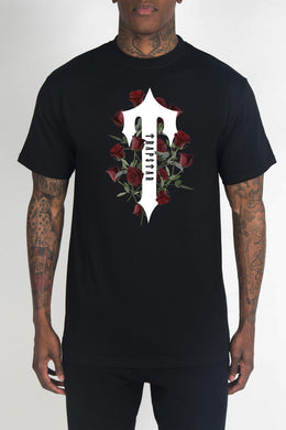 Irongate T Rose Tee - Black