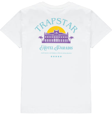 5 Star Resort Tee - White