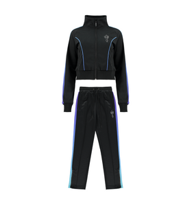 Women's AW20 Irongate T Spectrum Panel Zip Tracksuit - Black