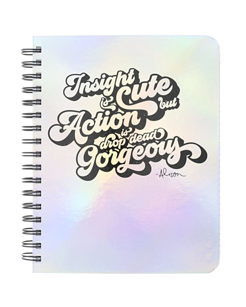 Action is Drop Dead Gorgeous Notebook