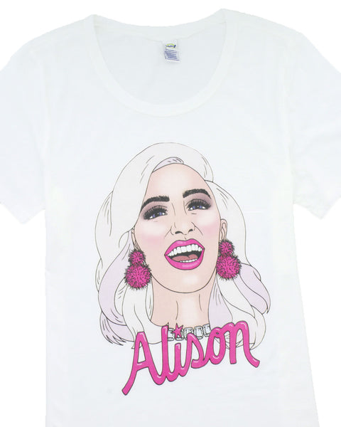 Fitted Alison Short Sleeve T-Shirt