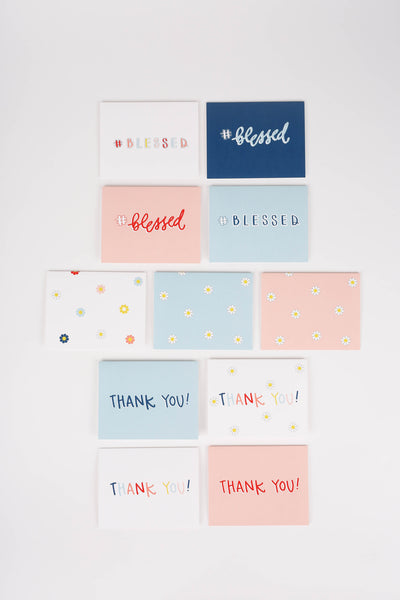 Seriously So Blessed Stationery Set - Digital Download