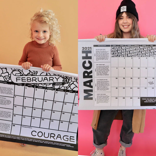2021 Year of Awesome Calendar