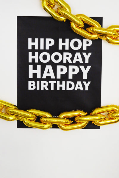 Hip Hop Hooray Birthday Party Pack - Digital Download