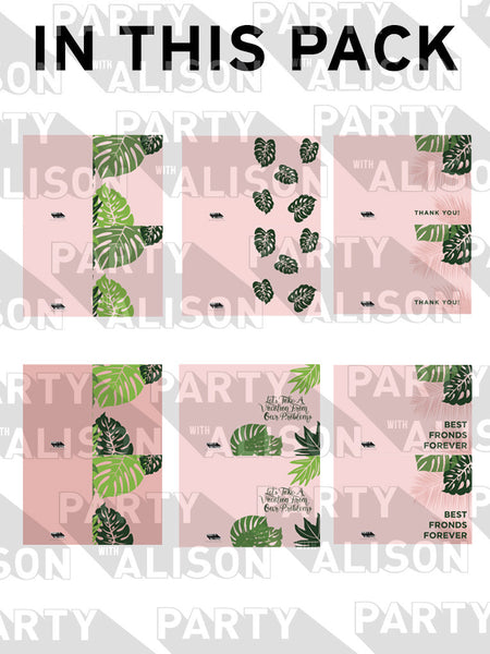 Cabana Stationery Set - Digital Download