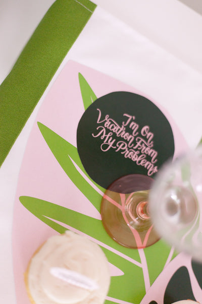 Cabana Bridal Shower Party Pack - Digital Download