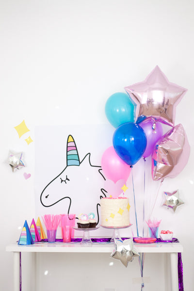 Unicorn Birthday Party Pack - Digital Download