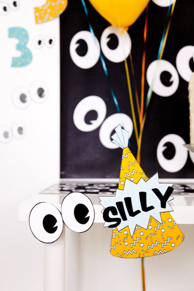 Silly Party Birthday Party Pack - Digital Download