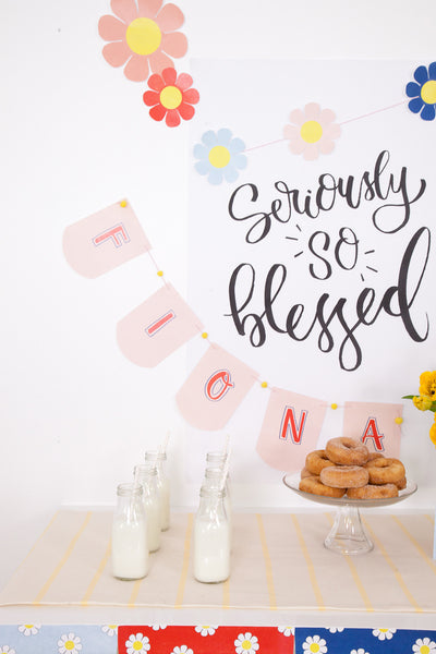 Seriously So Blessed! Party Pack - Digital Download
