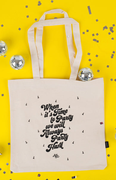 Alison's Birthday Get Down Limited Edition Tote & Pin Combo