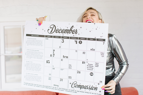 2019 Year of Awesome Calendar