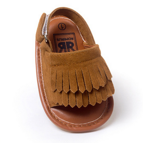 The Happy Hippy Baby Moccasin Sandals