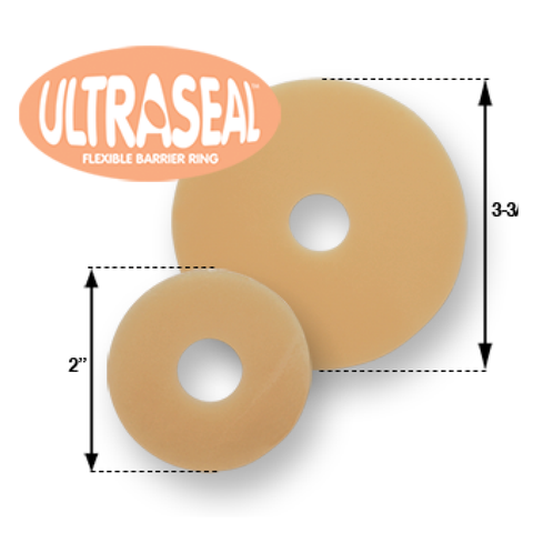 "UltraSeal Hydrocolloid Barrier, 3/32"" (2mm) thickness, Box of 10"