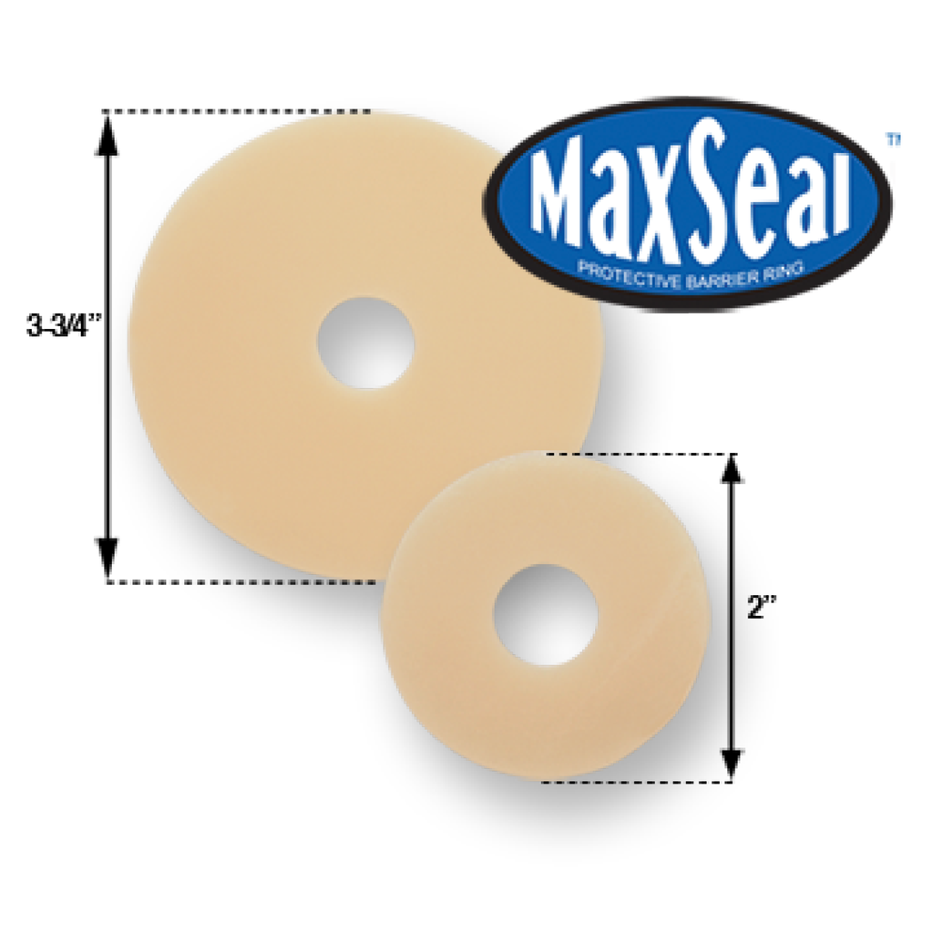 "MaxSeal Protective Barrier Ring, 5/32"" (4mm) thickness, Box of 10"
