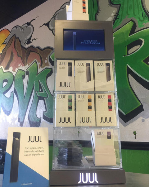 JUUL Electronic Cigarette now at Valor Vapor