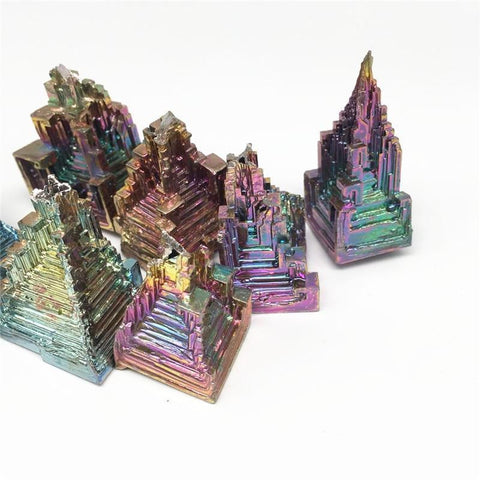 Rainbow Bismuth Crystal Ore-ToShay.org