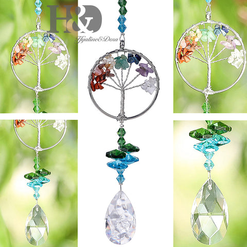 Crystal Sun Catcher Tree of Life-ToShay.org